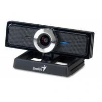 Webcam geniius widecam f100 12mp 1080p cmos 30fps usb2.0 full hd - 32200213101 - Genius