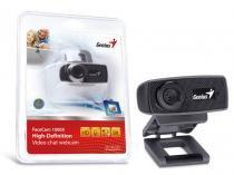 Webcam Genius 32200223101 Facecam 1000X HD 720P USB 2.0 Zoom 3X -