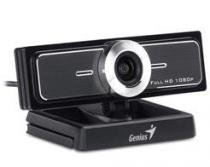 Webcam genius widecam f100 12mp 1080p cmos usb2.0 30fps full hd - 32200213101 - Genius
