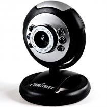 Webcam Led 1,3 Mpixels Com Microfone 0189 Bright -