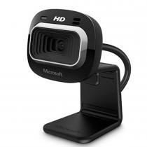 Webcam Lifecam USB HD-3000 720P Preta T3H-00011 - Microsoft - Microsoft