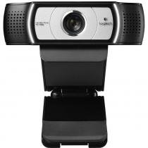Webcam Logitech C930E, 1080p Full HD Preto - USB, Com Microfone -