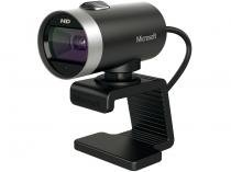 Webcam Microsoft LifeCam Cinema - Até 5MP HD Slide Show