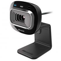 Webcam Microsoft LifeCam HD-3000 T3H-00011 com Microfone Integrado -