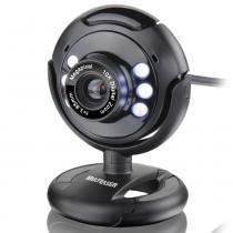 Webcam Multilaser Night Vision 16 MP WC045 Preta -