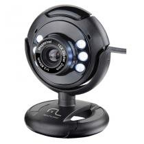 Webcam Multilaser WC045 Plug e Play 16Mp NighTVision Microfone USB - Multilaser