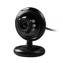Webcam Night Vision 16 Megapixel Usb Led Wc045 Multilaser -
