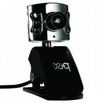 Webcam Pisc 1819 1.3MP - Prata - Pisc