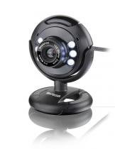 Webcam USB com Microfone Preta WC045 Multilaser -