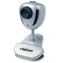 Webcam USB Com Presilha 480k - Bright 0062 - Prata -