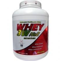 Whey 3W No2 2Kg - Health Labs - Morango Health Labs