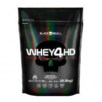 Whey 4HD 2,2kg Refil - Black Skull -