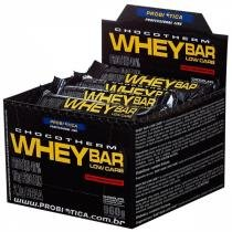 Whey Bar Low Carb 24 unid - Probiotica - Probiótica