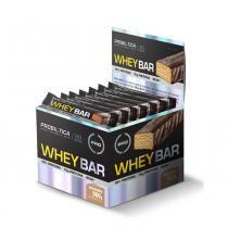 Whey bar low carb c/24und. 40g 960g amendoim - probiótica pro - Probiótica