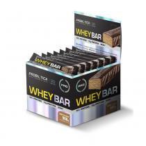 Whey bar low carb c/24und. 40g 960g cookies and cream - probiótica pro - Probiótica