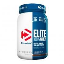 Whey Elite 100 Protein 907g Rich Chocolate - Dymatize Nutrition - Dymatize