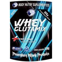 Whey Glutamix 1kg Morango - Body Nutry