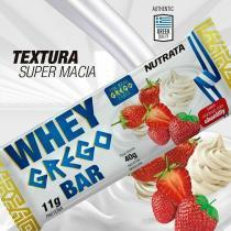 Whey Grego Bar (40g) - Nutrata -