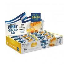 Whey Grego Bar Caixa 12 Unidades Nutrata -