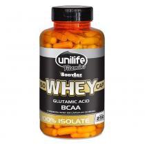 Whey IsoWheyCap 100 Isolada (550mg) 250 Cápsulas - Unilife -