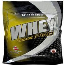 Whey Pro Refil Morango 1,5kg - Max Titanium
