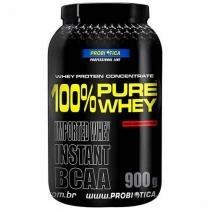 Whey Protein 100% Pure Whey 900g - Probiótica c/ BCAA