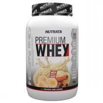 Whey Protein Concentrado PREMIUM WHEY - Nutrata Suplementos - 900g - Banana c/ Canela -