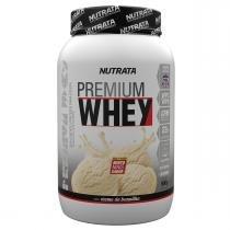 Whey Protein Concentrado PREMIUM WHEY - Nutrata Suplementos - 900g - Baunilha - Nutrata Suplementos