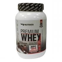 Whey Protein Concentrado PREMIUM WHEY - Nutrata Suplementos - 900g - Chocolate - Nutrata Suplementos
