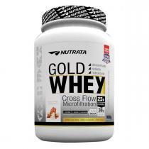 Whey Protein GOLD WHEY - Nutrata Suplementos - 900g - Banana Caramelizada -
