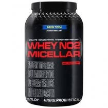 Whey Protein NO2 Micellar Morango 900g - Probiótica
