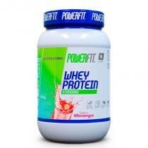 Whey Protein Standard Nutrilatina Powerfit Morango - 900g - Nutrilatina