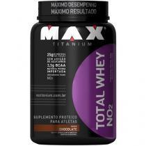 Whey Protein Total Whey 900 g Chocolate - Max Titanium