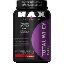 Whey Protein Total Whey 900 g Morango - Max Titanium