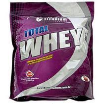 Whey Protein Total Whey Morango 2 kg Refil - Max Titanium
