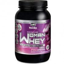 Whey Protein Woman c/ Colageno Hidrolizado 900g Chocolate Unilife -
