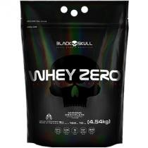 Whey Zero 100 Isolado (4.4KG) - REFIL - Black skull