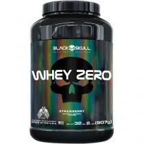 Whey Zero Isolate - 907g(2lbs) - Black Skull - Morango - Black Skull