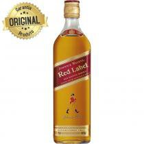 Whisky Escocês Red Label Garrafa 1 Litro - Johnnie Walker -