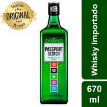 Whisky Escocês Scotch Garrafa 670ml - Passport -