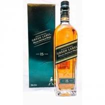 Whisky Johnnie Walker Green Label 15 anos 750ml - Johnnie walker  sons