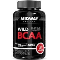 Wild BCAA 2500 - 100 Tabletes - MidWay - MidWay