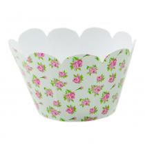 Wrap Para Cupcake C/12 Unidades Floral - Nc toys