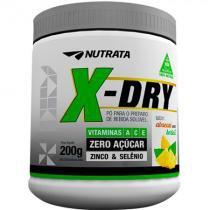 X-Dry Diurético (200g) - Abacaxi Com Hortelã - Nutrata