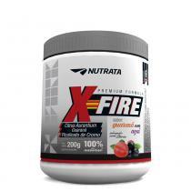 X-Fire 200g Guarana c/ Açai Nutrata - Nutrata