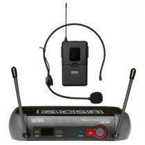 X888H - Microfone s/ Fio Headset / Cabeça UHF X 888 H - CSR - CSR