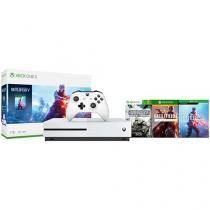 Xbox One 1TB 1 Controle Microsoft  - com 3 Jogos