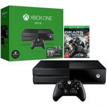Xbox One 500GB Microsoft 1 Controle - Fabricado no Brasil com 1 Jogo via Download