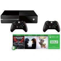 Xbox One 500GB Microsoft 2 Controles - 3 Jogos + Live de 3 Meses