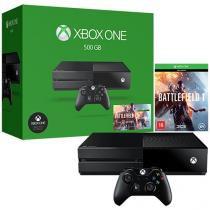 Xbox One 500GB Microsoft 2 Controles - Fabricado no Brasil com 1 Jogo via Download